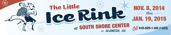 little ice rink banner
