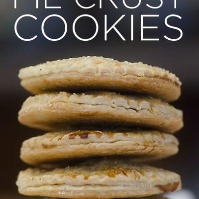 Apple Pie Cookies a la Mode