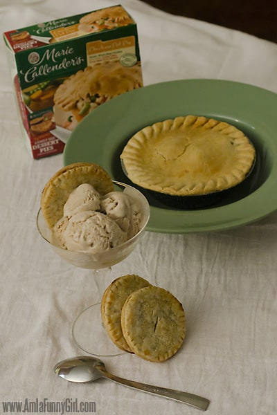 Pot pie ice cream cookie box #EasyAsPotPie #ad