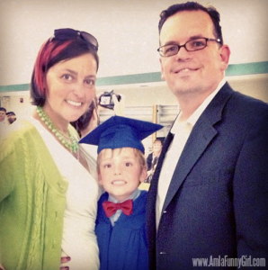 preschool grad family
