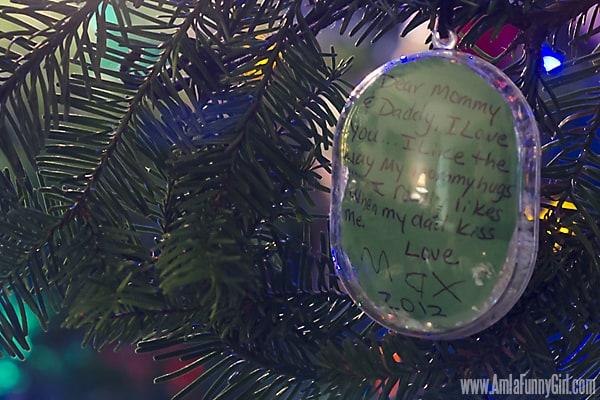 preschool ornament