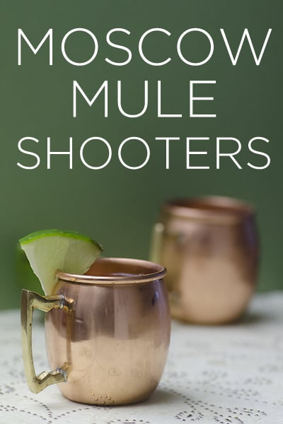 moscow mule shots
