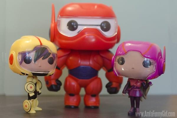 Funko Pop toys - #BigHero6Release
