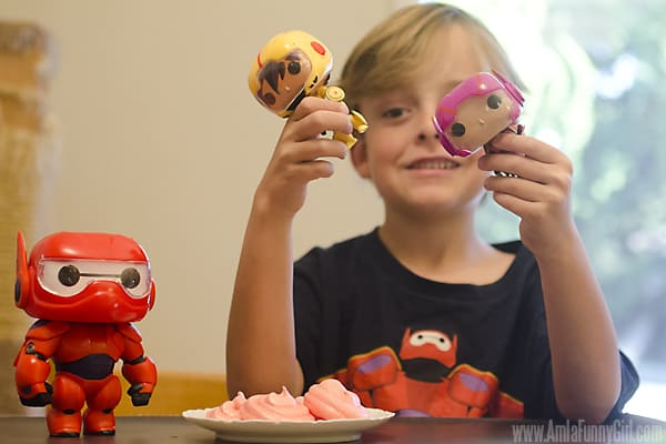 Max at table with toys - #BigHero6Release