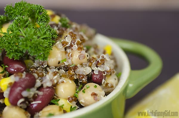 3-Bean Salad Close-up #ChooseSmart #ad