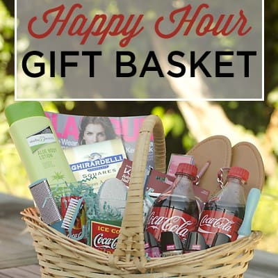 Celebrate summer with a pedicure gift basket!