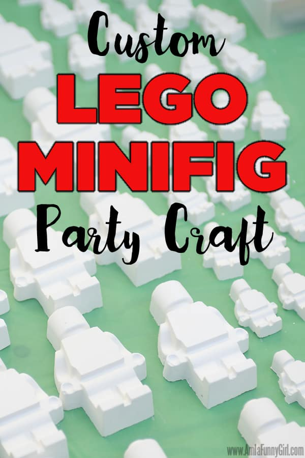 LEGO Minifig Party Craft - More Than Thursdays