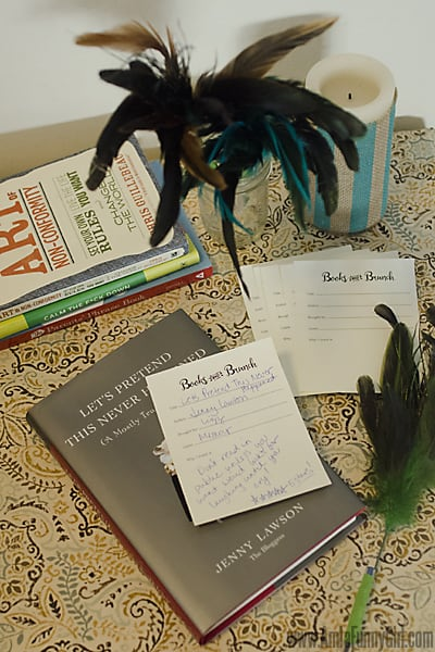 Book review station #BakeInTheFun AD