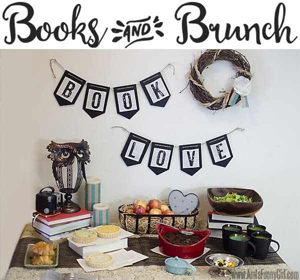 Whole Books and Brunch Table #BakeInTheFun AD
