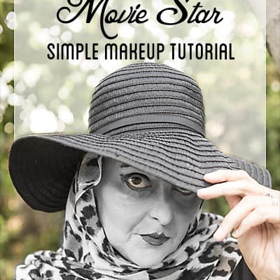 Black & White Movie Star Makeup Tutorial