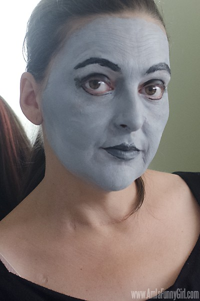 Full face no props #HallowCleanFaceOff AD