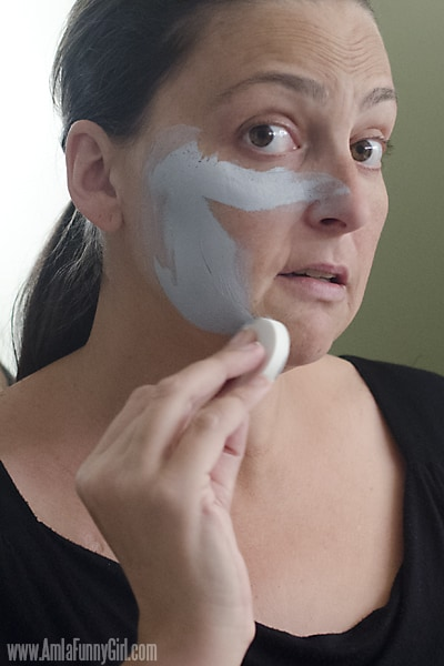 Sponge on first layer #HallowCleanFaceOff AD
