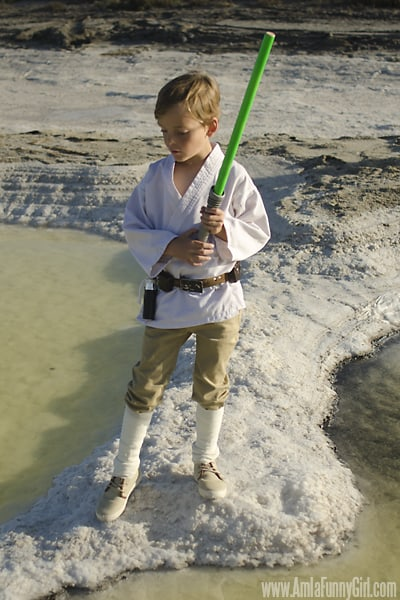 luke skywalker costume boys