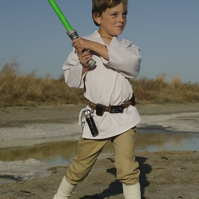 Kids Luke Skywalker Costume DIY