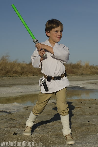 luke skywalker costume kids