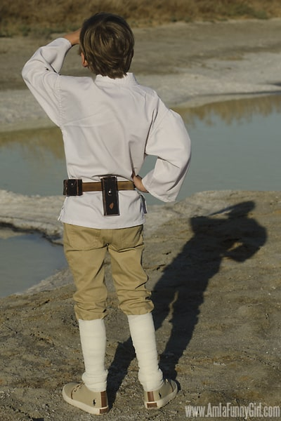 luke skywalker costume diy
