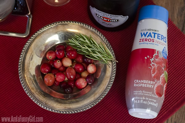 Cranberries with Water Zero flavoring #WaterMadeExciting AD