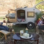 Luxurious details make camping into glamping
