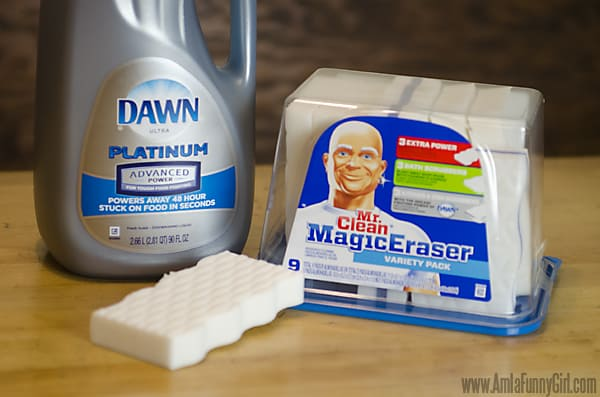 Mr Clean and Dawn #HolidayMoments AD