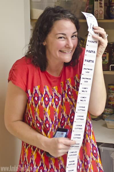katie with labels #PutALabelOnIt ad