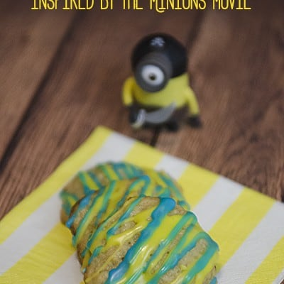 Banana! Banana! Cookies inspired by the Minions movie