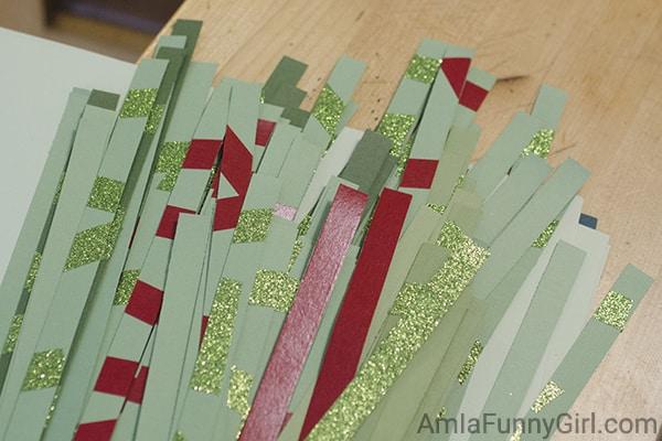 Cut strips #CraftAmazing AD