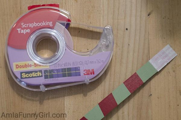 Double-stick tape topper #CraftAmazing AD
