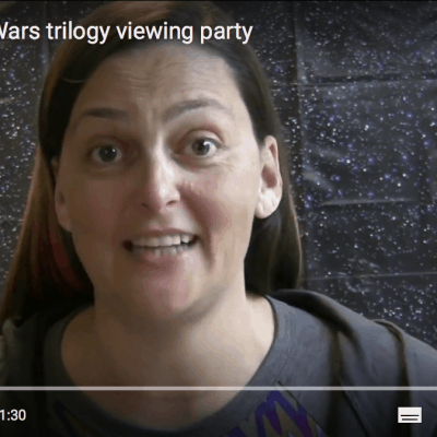 Host a Star Wars trilogy viewing party