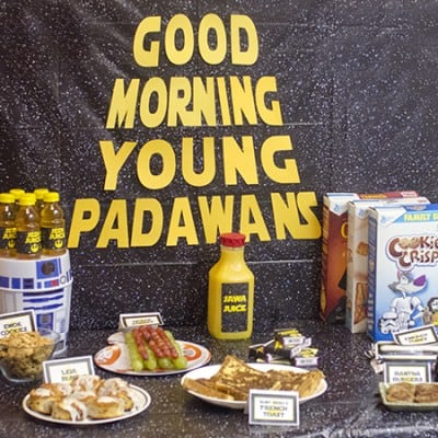 Star Wars™ Jedi Training Breakfast Party