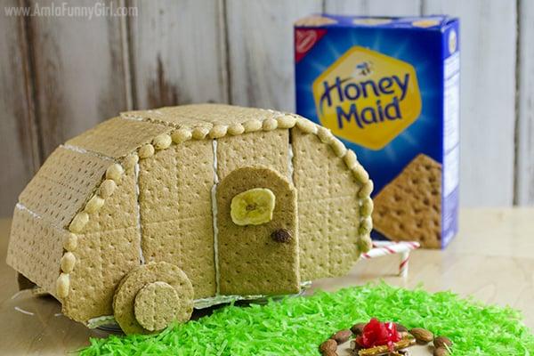 Teardrop with box #HoneyMaidHouse AD