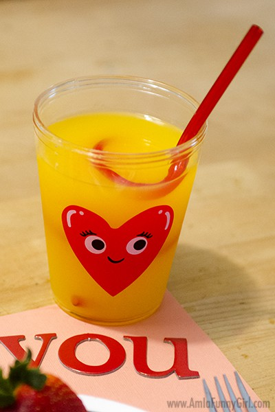 Tampico in Heart Cup