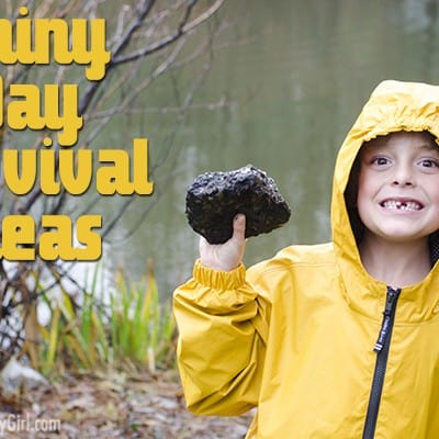Rainy Day Survival Tips