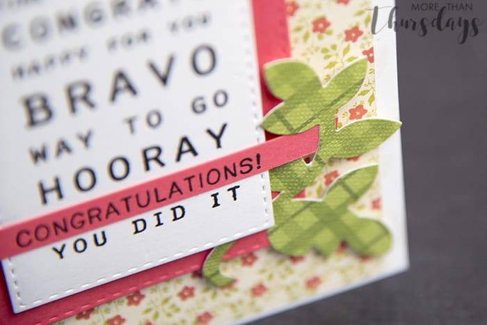 congrats card detail