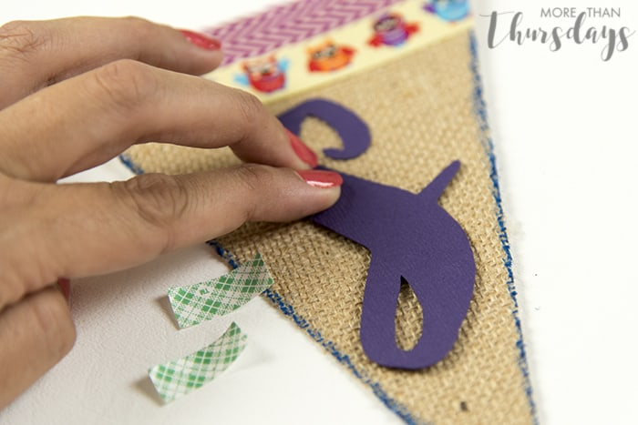 Pressing down letter #SpringCreations AD