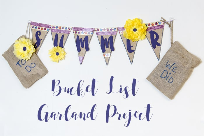Summer Bucket List Garland Project
