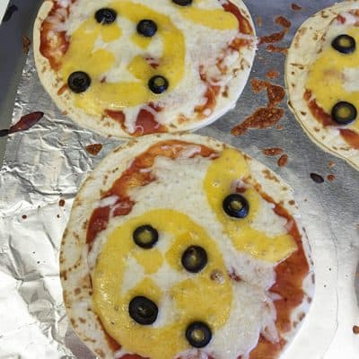 Single Serve BB-8 Pizza