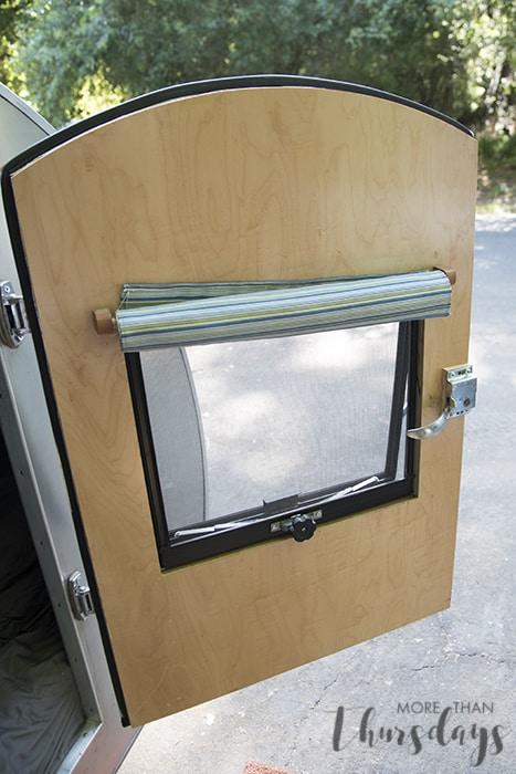 Homebuilt Teardrop Trailer 11 Door Construction More