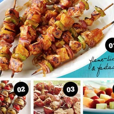 Food on Sticks FTW: 12 ideas