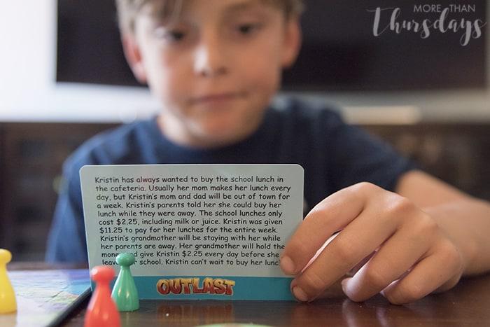 Max reading card