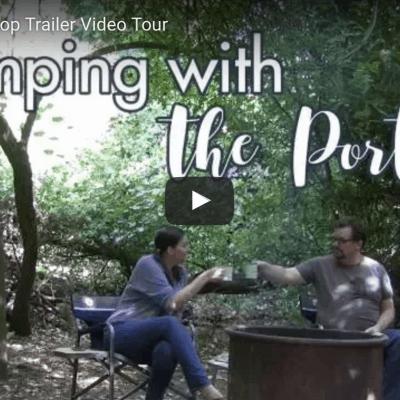 Teardrop Trailer Video Tour