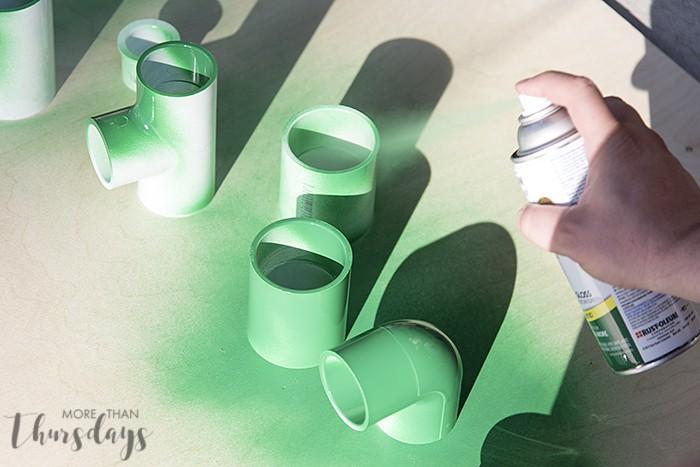 4 Spray painting #PilotYourLife