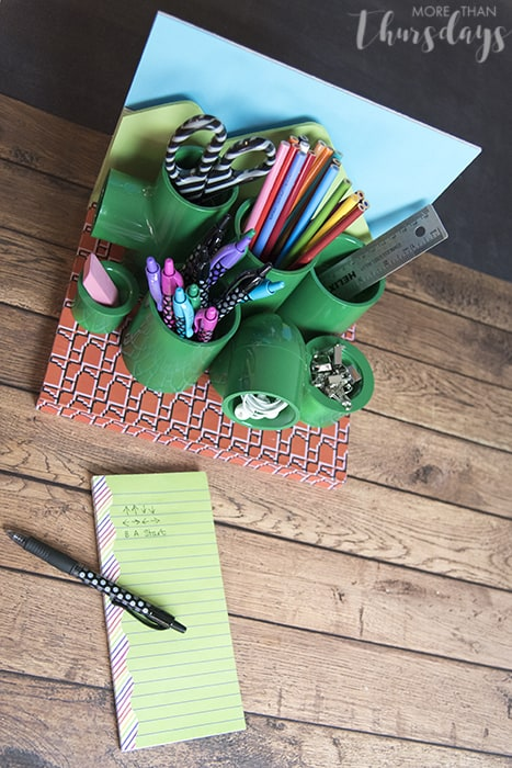 Desk Org with Notes #PilotYourLife