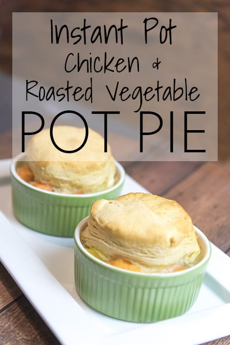Instant Pot Chicken and Veggie Pot Pie