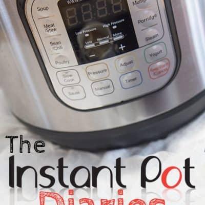 Instant Pot Diaries: Month 1