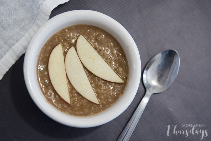 Apple pie oatmeal from my new Instant Pot