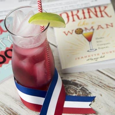 Fiery Suffragette Cocktail