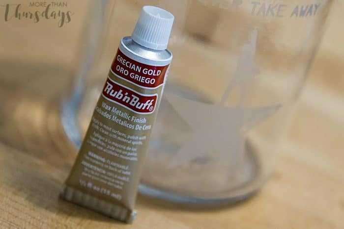 Coloring etched glass - Silhouette tutorial - More Than ...