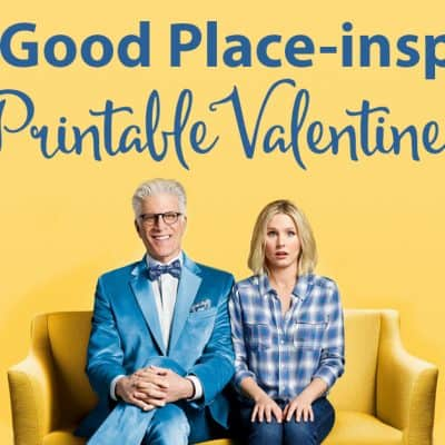 """The Good Place"" Valentines"