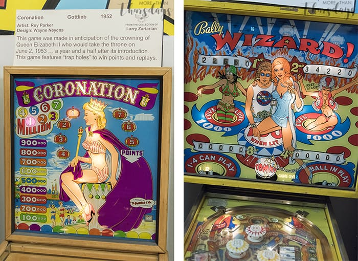 Coronation and Pinball Wizard Machines - Pinball Museum