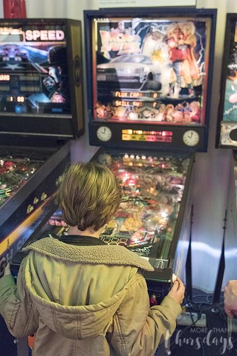 Playing at Pinball Museum